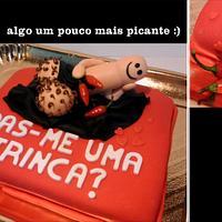 A Naughty Naughty Cake! ;)