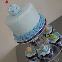 Whale Baby Shower
