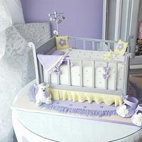3d Crib cake