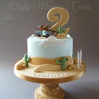 Cars 'Mater' cake