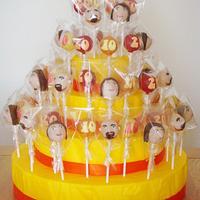 Anniversary Cake Pops