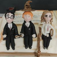 Harry Potter Book cake!