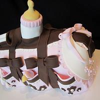 Baby Shower Cake by Mila O'Driscoll