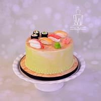 Simple Sushi Cake