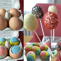 Easter Eggs cake pops