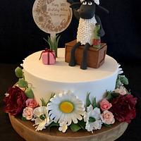 Shaun The Sheep 50th Birthday Cake