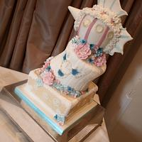 Vintage Steampunk Wedding Cake - 1st wedding for 2014