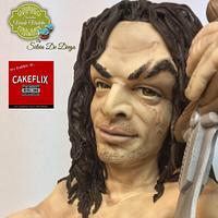 Cakeflix Collaboration Conan el Barbaro