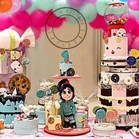 Vanellope Candy Land Cake Set