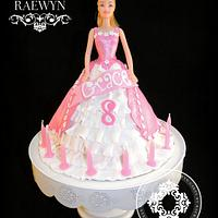 Barbie Cake for Grace :)