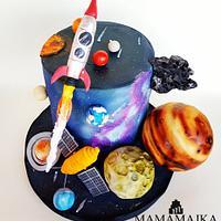 Astronomy cake