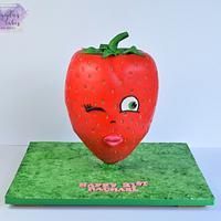 Giant strawberry :)
