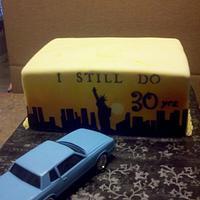 New York Sunset for 30th wedding anniversary