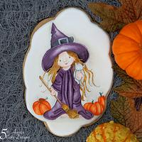 Halloween Witchy Fun Cookie