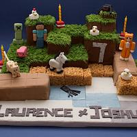 Mine craft for Laurence and Joshua