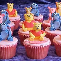 Winnie Pooh & Friends Cupcakes