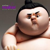 Bonzo - My Sumo Kid Cake Topper