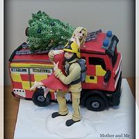 A Fireman's Christmas!