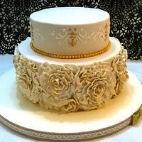 Romantic Golden wedding anniversary by Silvia Caballero