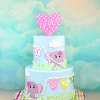 Elephant theme Baby shower