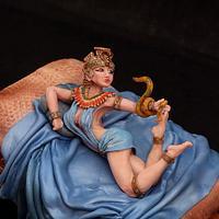 Cleopatra. 3D cake