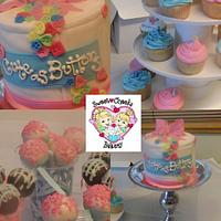 """Cute as Buttons"" Baby Shower"