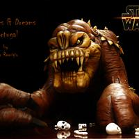RANCOR - STAR WARS - THE BAKERS STRIKE BACK!!