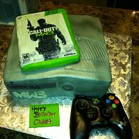 MW3 Xbox 360 w/ controller