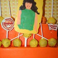 New Girl Cake pops contest