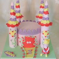 Bright Peppa Pig Castle