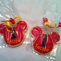 Mickey Mouse Cookies by lanett