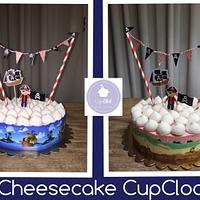 Cheesecake simple 😍 Pirata Leo