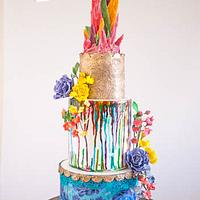 Color Splash Cake