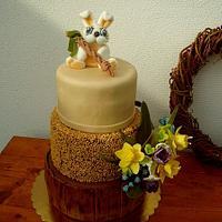 Easter and birthdays cake
