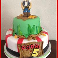 Pirate Themed Cake.