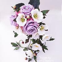 A sugar bouquet of hope.
