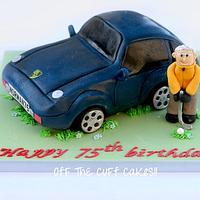 3D Porsche cake