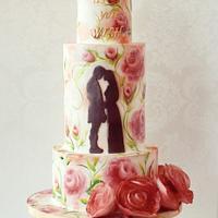 Princess Bride Cake for Be My Valentine Movie Collaboration
