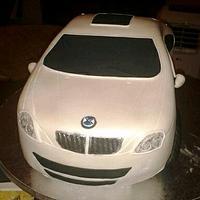 BMW Car Cake