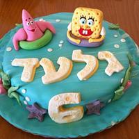 Bobsponge cake