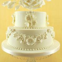 Vintage Wedding Cake (no.3)