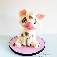 Pua Cake (from Moana)