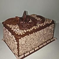 Gingerbread Dragon Chest