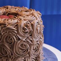 Chocolate Buttercream Rosette