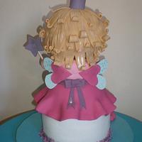tarta hada princesa para Carla by Elena Garcia Rizo
