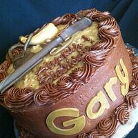 Muzzleloader Cake by Christy McClure