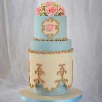17th Birthday Cake