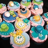 Whimsical Tea Party Cupcakes