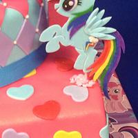My Little Pony Birthday by Sugared Tiers
