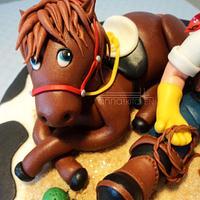 """ Howdy Pardner ! "" by Anna Mathew Vadayatt"